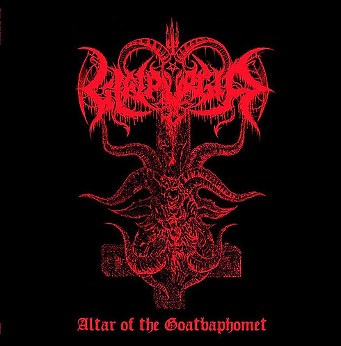 Walpurgia - Altar of the Goatbaphomet CD/LP/SHIRT BUNDLE