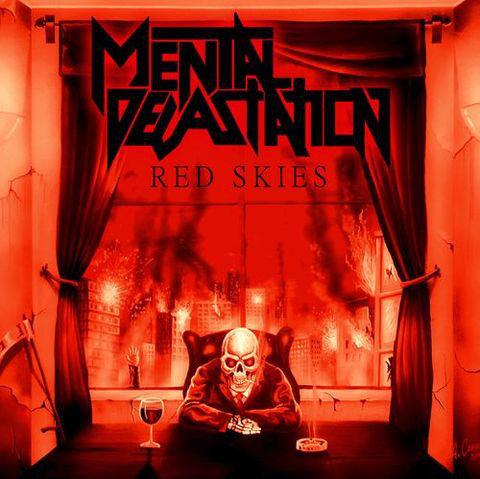 Mental Devastation - Red Skies CD