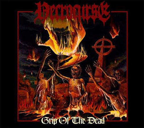 Necrocurse – Grip Of The Dead Digi-CD