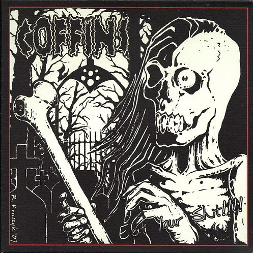 "Coffins / Lobotomized - Split 7""EP"
