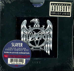 Slayer – Decade Of Aggression Live 2CD