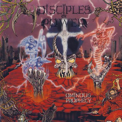 Disciples of Power - Ominous Prophecy LP (Black Vinyl)