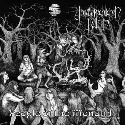 Unaussprechlichen Kulten – People Of The Monolith CD