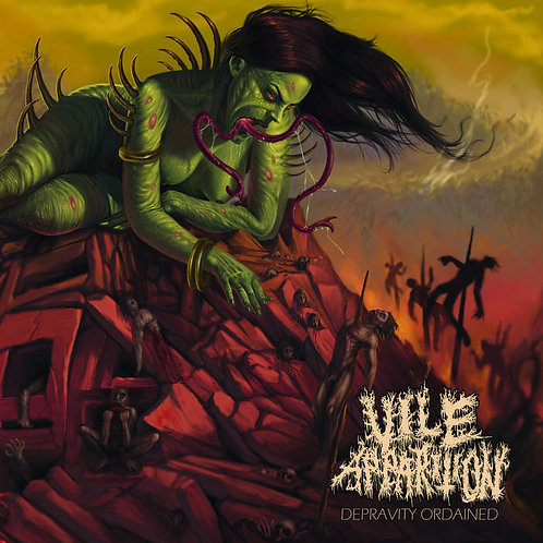Vile Apparition - Depravity Ordained LP