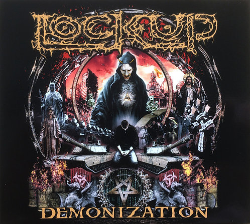Lock Up - Demonization DIGI-CD