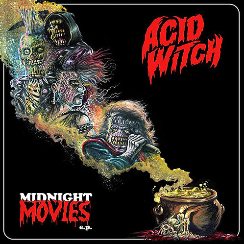 Acid Witch ‎– Midnight Movies MLP (Red Vinyl)