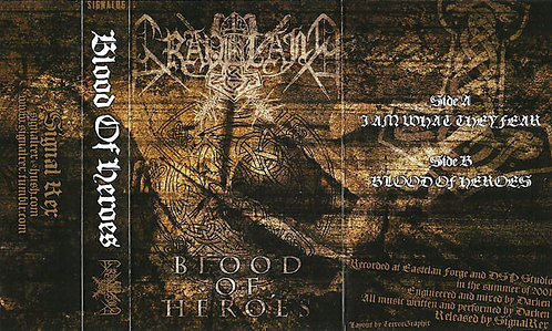 Graveland - Blood of Heroes TAPE