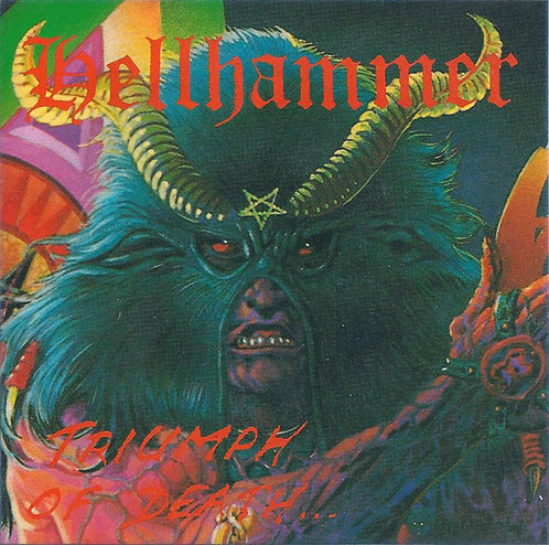 Hellhammer – Triumph of Death CD
