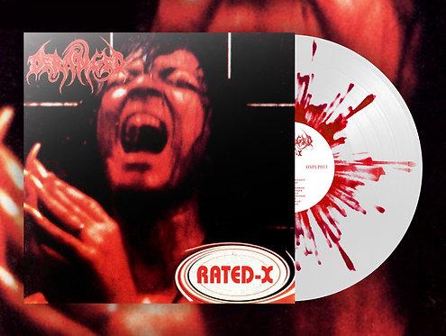 Deranged - Rated X LP (White/Splatter Vinyl)