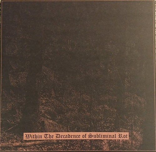 """Megalith Grave / Orgy of Carrion - Within the Decadence of Subliminal Rot 10""""LP"""