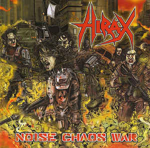 Hirax ‎– Noise Chaos War LP