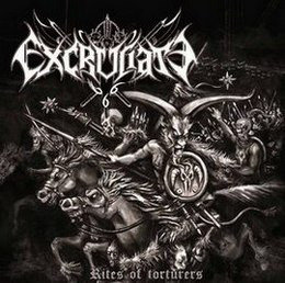 Excruciate 666 ‎– Rites Of Torturers CD
