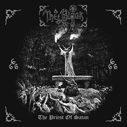 The Black - The Priest of Satan LP (Red Galaxy Vinyl)