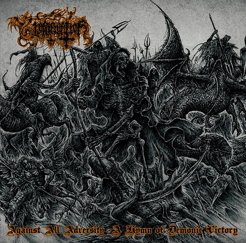 Glorification ‎– Against All Adversity - A Hymn Of Demonic Victory CD