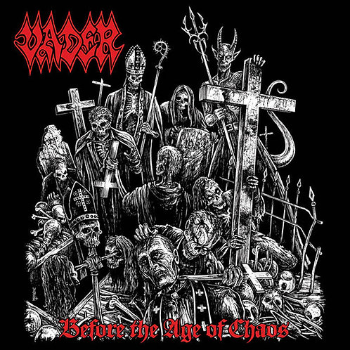 Vader - Before The Age Of Chaos - Live 2015 2xCD+DVD