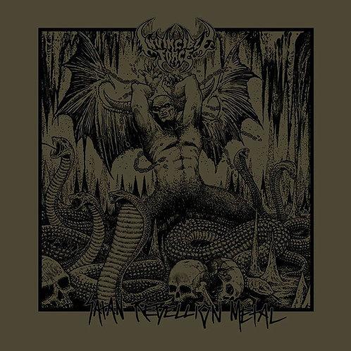Invincible Force – Satan Rebellion Metal CD