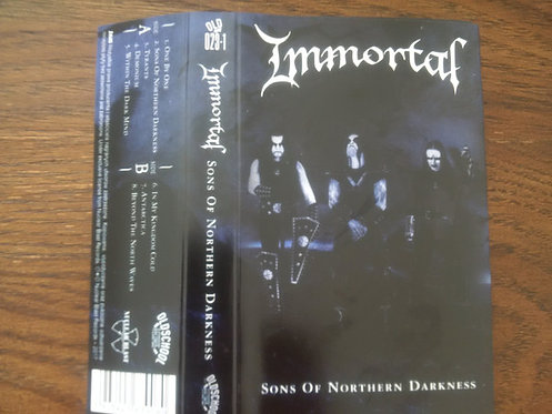 Immortal ‎– Sons Of Northern Darkness TAPE