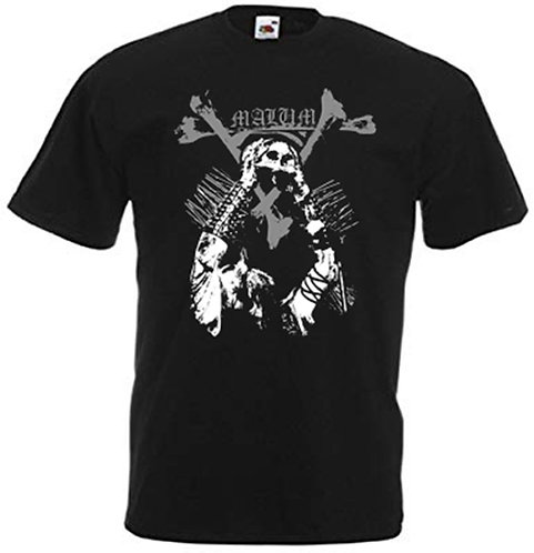 """Malum - """"Crowned with the Serpent Sun"""" T-SHIRT"""