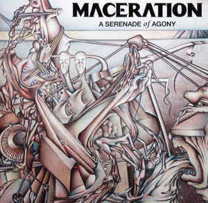 Maceration ‎– A Serenade Of Agony LP