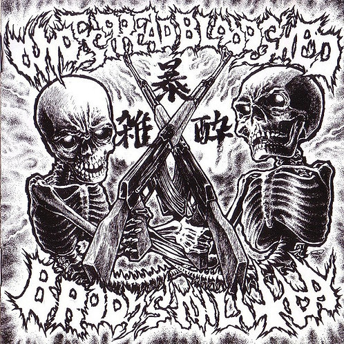 Brody's Militia / Widespread Bloodshed - Split CD