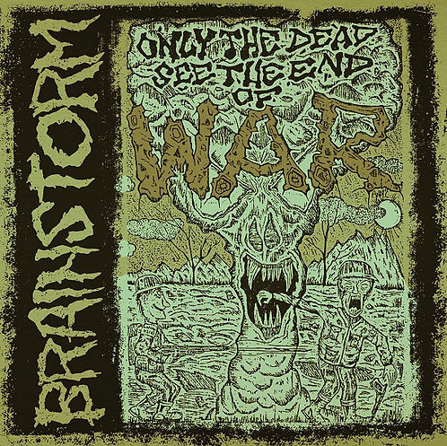Brainstorm ‎– Only The Dead See The End Of War LP