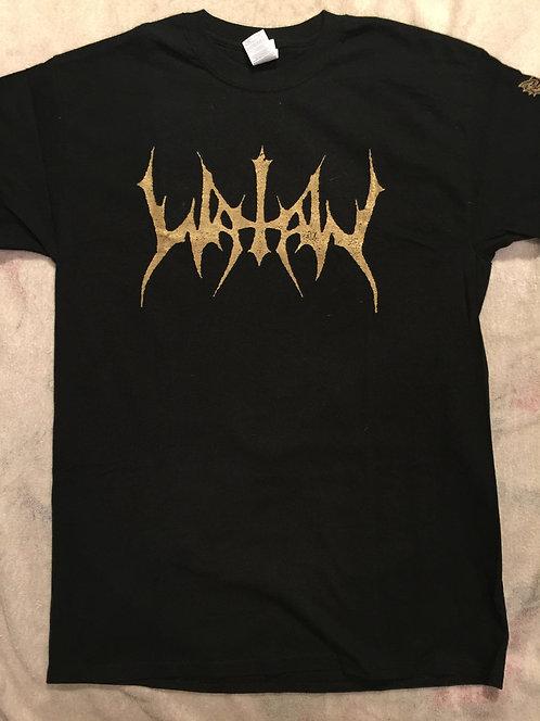 Watain - Gold Logo SHIRT