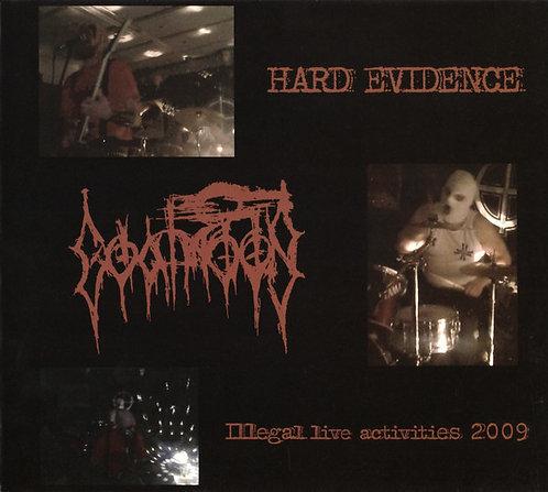 Goatmoon - Hard Evidence: Illegal Live Activities 2009 DIGI-CD