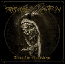 "Rotting Christ / Varathron - Duality of the Unholy Existence 7""EP (Black Vinyl)"