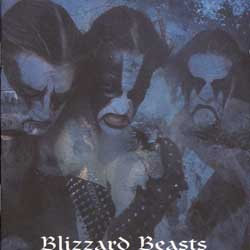 Immortal - Blizzard Beasts LP (Blue Galaxy Vinyl)