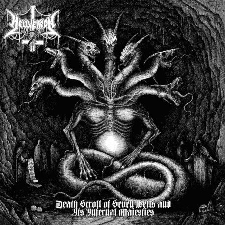 Hellvetron ‎– Death Scroll Of Seven Hells And Its Infernal Majesties LP