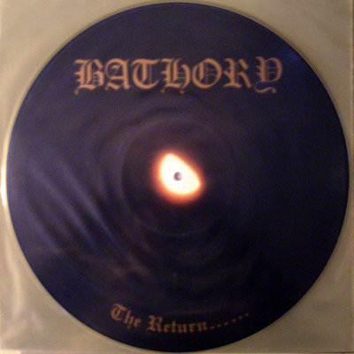 Bathory - The Return PIC-LP
