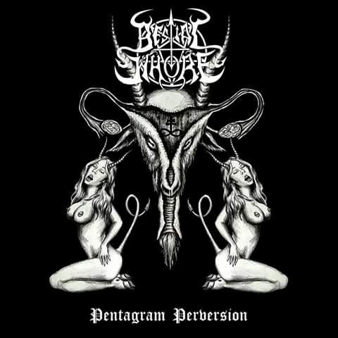 Bestial Whore ‎– Pentagram Perversion CD