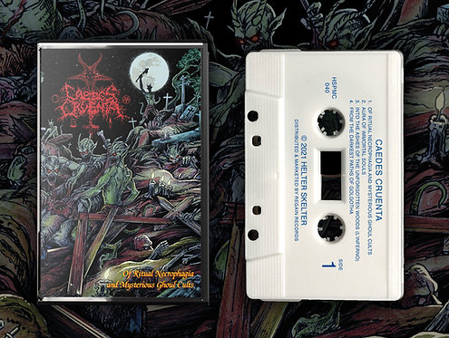 Caedes Cruenta - Of Ritual Necrophagia & Mysterious Ghoul Cults TAPE