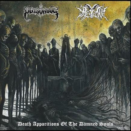 Poisonous / Daemonic - Death Apparitions Of The Damned Souls Digi-CD