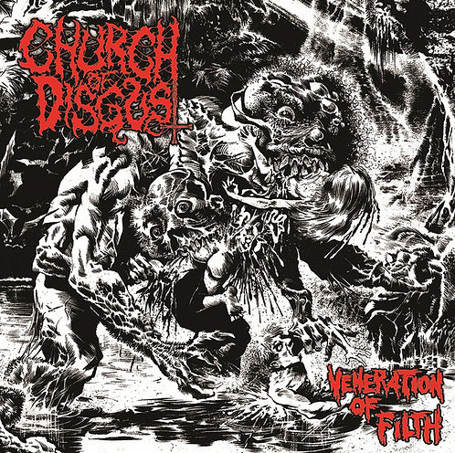 Church of Disgust – Veneration Of Filth CD