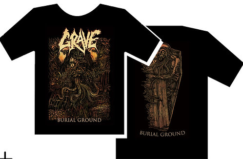 Grave - Burial Ground Size S Color Print SHIRT