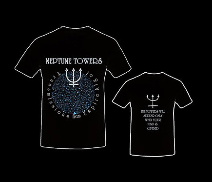 Neptune Towers - Transmissions from Empire Algol t-shirt