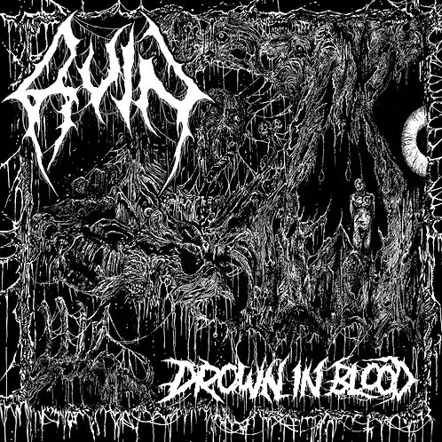 Ruin - Drown in Blood LP (Grey Vinyl)