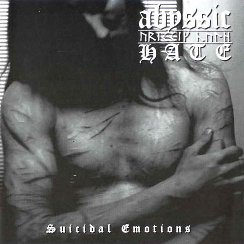 Abyssic Hate ‎– Suicidal Emotions CD