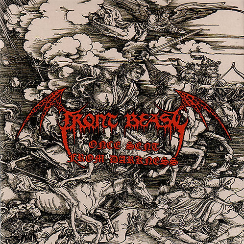 """Front Beast – Once Sent From Darkness 7""""EP"""