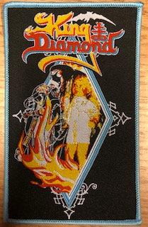 King Diamond (blue board) PATCH