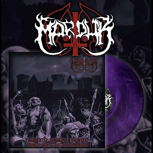 Marduk - Heaven Shall Burn... When We are Gathered LP (Purple Marble Vinyl)