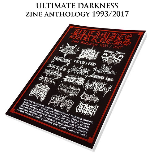 Ultimate Darkness 'Zine Anthology BOOK
