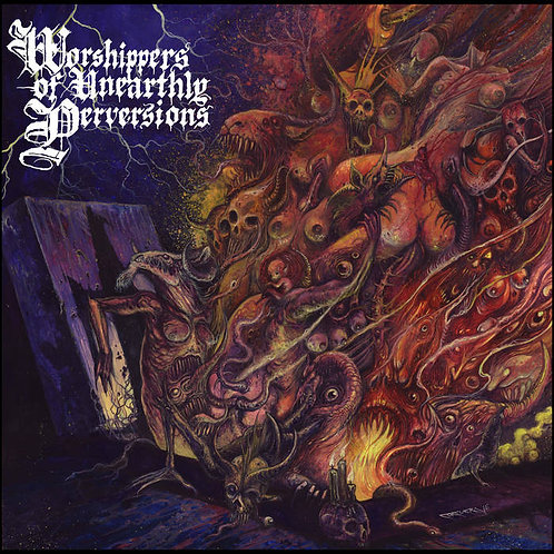 Beastiality - Worshippers of Unearthly Perversions DIGI-CD