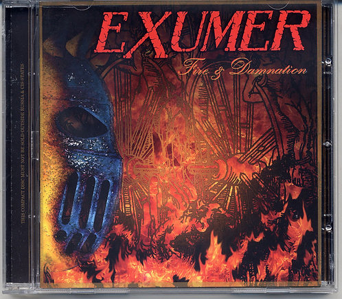 Exumer ‎– Fire & Damnation CD