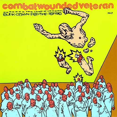 "Combat Wounded Veteran - Duck Down For The Torso 10"" EP (Green Vinyl)"