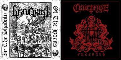 """Graveyard / Crucifyre - Split 7""""EP"""