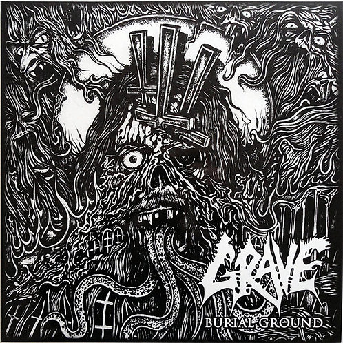 Grave ‎– Burial Ground LP