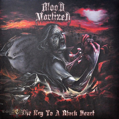 Blood Mortized ‎– The Key To A Black Heart LP