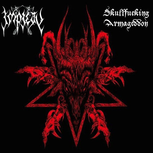 Impiety – Skullfucking Armageddon DIGI-CD